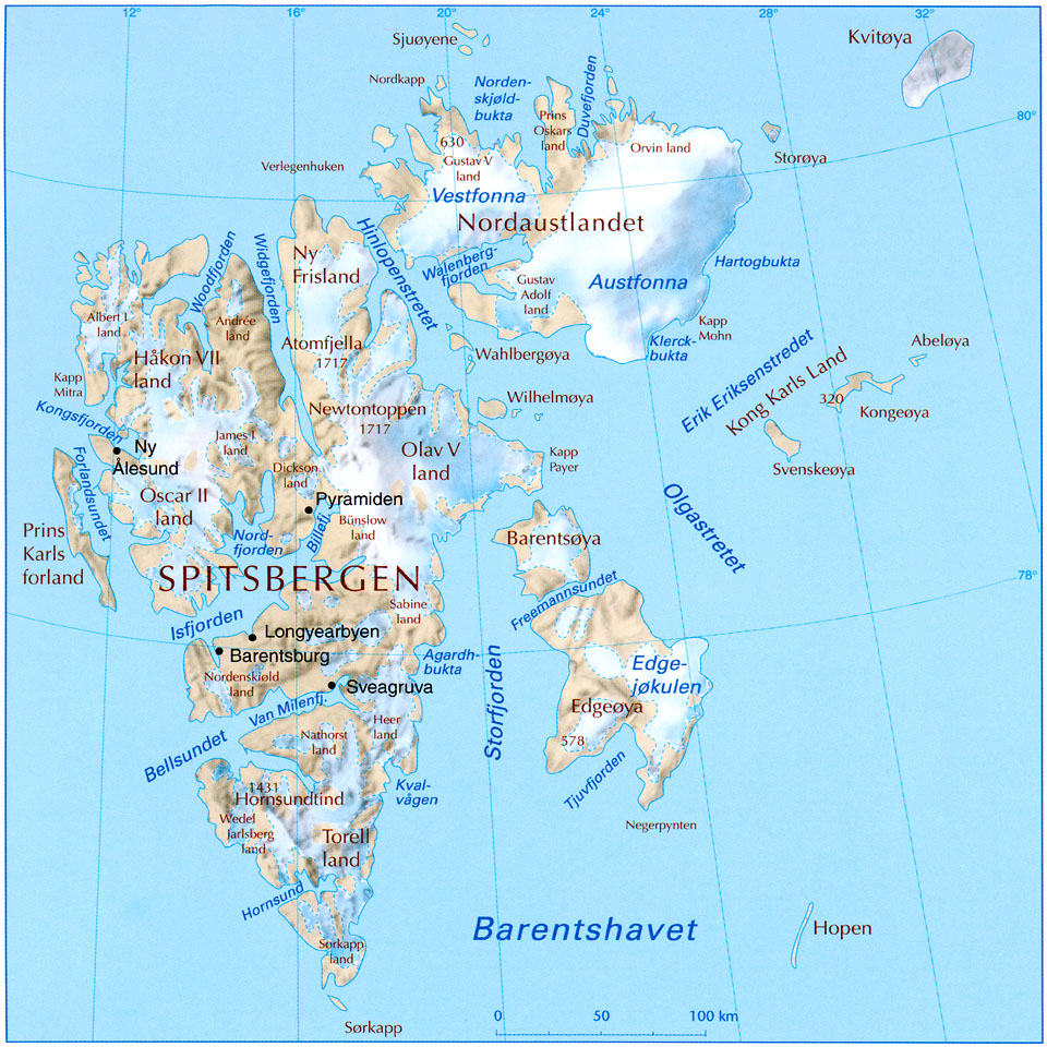 Svalbard Island: where is located, who owns, interesting facts 96